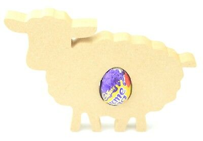 Creme Egg Holder Blank Shape Easter Lamb Sheep Bulk Buy Easter Egg Holder Gift