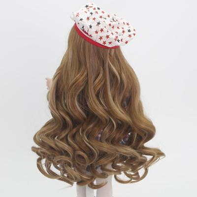 """37cm Wavy Curly Hair Replacement Wig for 18"""" American Girl Dolls Hair Making"""