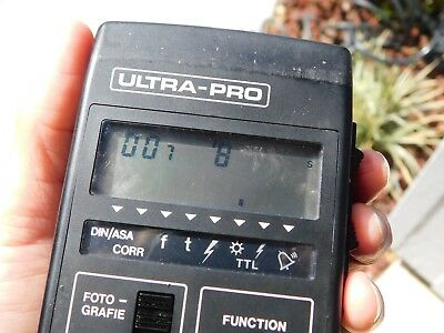 Gossen Ultra Pro Photography Light Meter with Case and Instructions