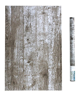 Distressed Wood Wallpaper Decor Peel & Stick Wallpaper Decoration Self-Adhesive
