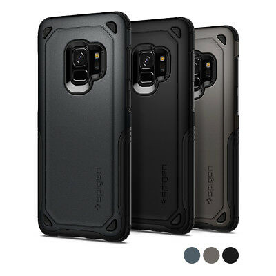 Galaxy S9 / Galaxy S9 Plus Case | Spigen® [Hybrid Armor] Double Shockproof Cover