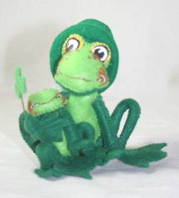 Annalee St. Patrick's Day Proud To Be Green Frog and Tadpole NWT