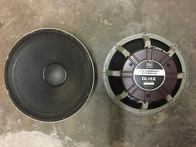 "EV DL15X Tieftöner Bass 15""  Low Frequency Reproducer Elektro Voice"
