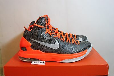 ee9726b97a07 Nike Air Zoom Max Kd V 5 Bhm Black History Month Grey Anthracite 2012 Ds  Size