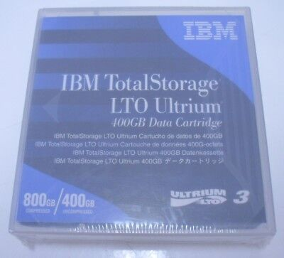 Brand New Factory Sealed IBM TotalStorage Ultrium LTO3 Cartridge 800GB 400GB