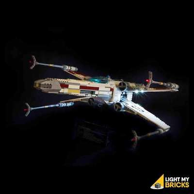 LIGHT MY BRICKS - LED Light Kit for LEGO UCS Red Five X-wing 10240 set - NEW