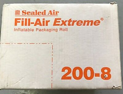 """Sealed Air Fill Air Extreme 200-8 8""""x 8"""" packing bags.4200'/ roll"""