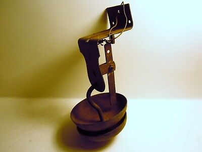 Vintage Cow Dinner Bell, wall mounted farm house decor