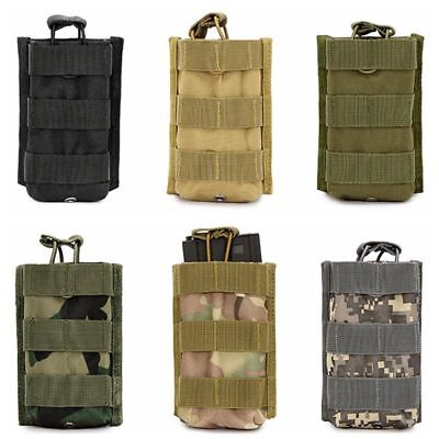 For M4/M16 5.56 .223 Molle Tactical Single Rifle Mag Magazine Pouch Open Top Bag
