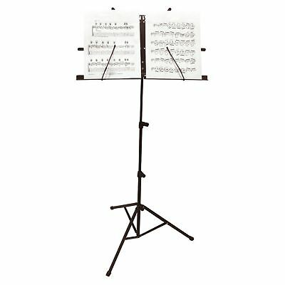 Adjustable Foldable Music Note Stand Sheet Music Holder Lightweight + Carry Case