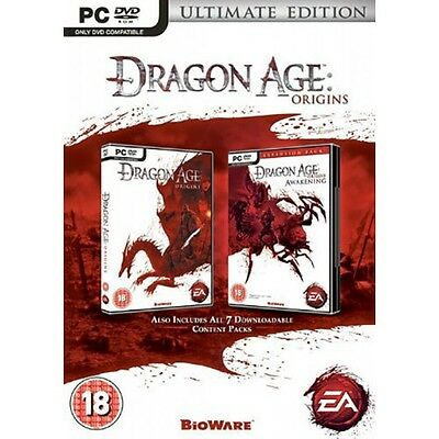 Dragon Age: Origins - Ultimate Edition (PC) NEW AND SEALED - QUICK DISPATCH