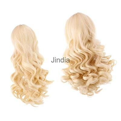 2pcs High-temperature Wire Curly Hair Wig for 18'' American Girl Dolls#4+#10