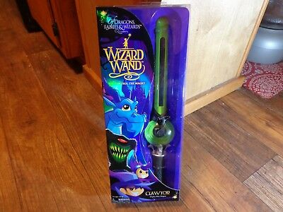 2017 Of Dragons, Fairies, & Wizards--Wizard Wand--Clawtor Mighty Blue Dragon