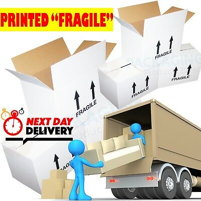 10 x XL LARGE Cardboard House Moving Boxes Removal Packing Storage Boxes *NEW*