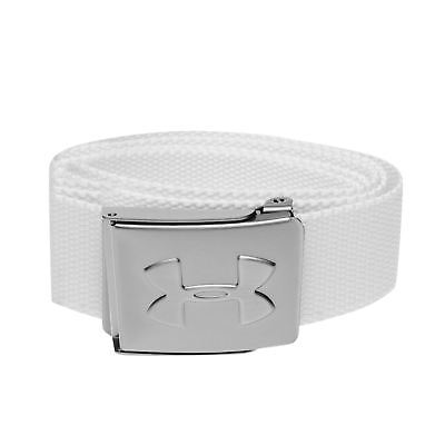 Under Armour Mens Gents Webbing Belt Bottle Opener Textile Waist Accessory