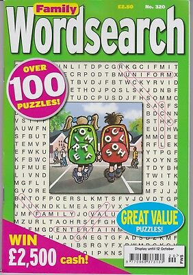 Family Wordsearch #320 New Puzzle Magazine