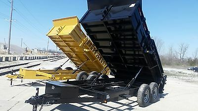 2018 Black Griffin Dump Trailer Hd Model $5300: Please Text/call Cody Griffin
