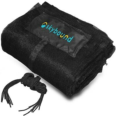 SkyBound Replacement Trampoline Safety Enclosure Net (for 12, 14, 15 ft frames)
