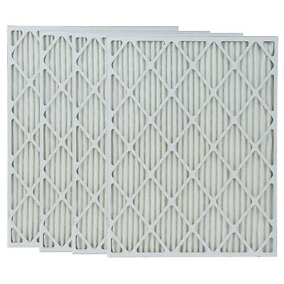16x30x2 Inch MERV 8 Pleated Furnace Air Filter 4-Pack by Tier1