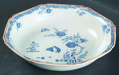 Wood & Sons OLD BOW BLUE Soup Bowl 774472