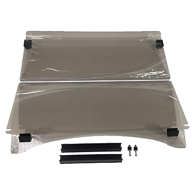 Windshield For Club Car Precedent Golf Cars. 2 Pce Fold Down. Strong 4Mm Acrylic