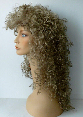 80's Big Hair Wig - lots of volume - flash back to your 80's days