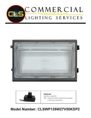 LED Wall Pack Industrial Security Exterior Light 150 Watt 19,350 Lumens