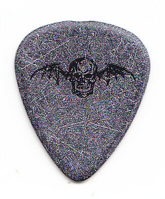 Avenged Sevenfold Synyster Gates Gray/Black Deathbat Guitar Pick - 2006 Tour A7X