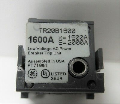 General Electric Tr20B1600 1600A Rating Plug