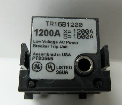 General Electric Tr16B1200 1200A Rating Plug