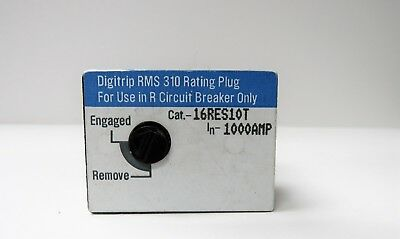 Square D 16Res10T 1000A Rating Plug