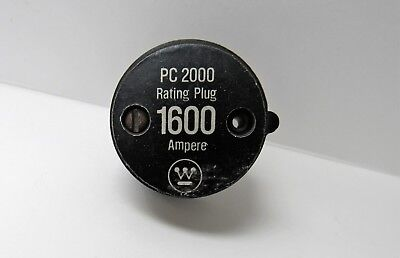 Westinghouse Pc2000 1600A Rating Plug