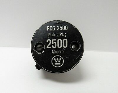 Westinghouse Pcg2500 2500A Rating Plug
