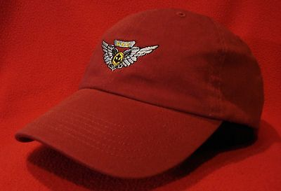 MARINE CORPS COMBAT AIR CREW Wings low-profile embroidered hat Dark Red Ball Cap