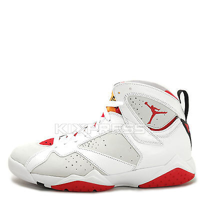 92abf4610e4043 Nike Air Jordan VII 7 Retro White Black Cardinal Red Bronze 304775 ...