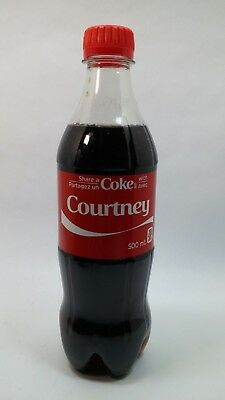 Share a Coke With Courtney Coca Cola Exclusive Canadian Name Unopened
