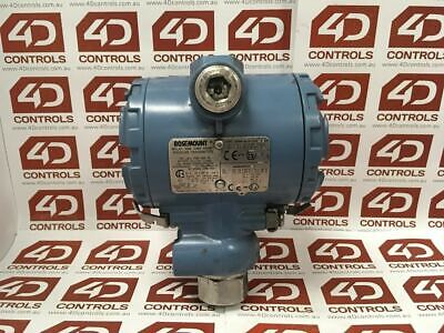 Emerson 2088G2S22A1K6Q4 Gage Pressure Transmitter 0 to 200kPa HART - Used