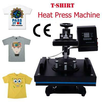 "12""x10""Transfer Sublimation T-Shirt Heat Press Machine w/LCD Temperature Control"