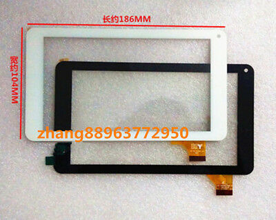 For 7-inch Touch Screen Digitizer Replacement TPC-51055 V3.0 WJ327-V1.0 126-070F