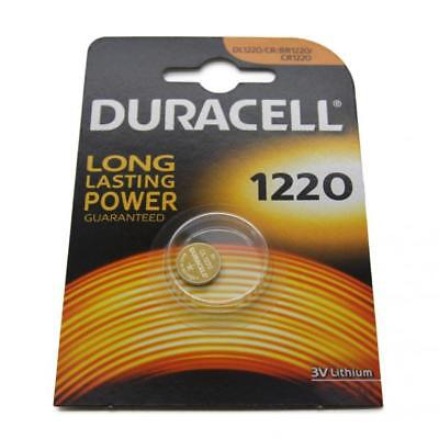 50x Duracell CR1220 3V Lithium Button Battery Coin Cell DL/CR/BR 1220 Exp. 2026