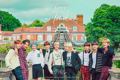 STRAY KIDS FIRST PHOTO BOOK [STAY IN LONDON] DVD+P.Book+Card+etc+Pre-Order+GIFT
