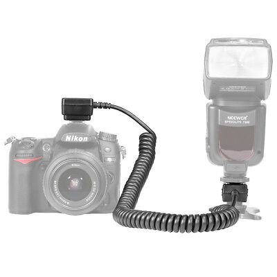 Neewer 9.8 feet TTL Off Camera Flash Speedlite Sync Shoe Cord for Nikon