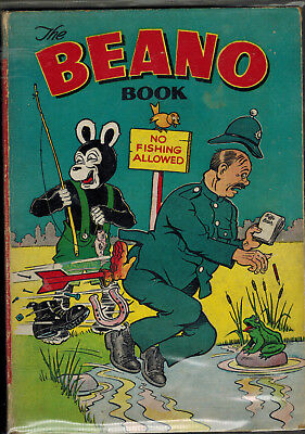 THE BEANO BOOK 1955 vintage comic annual - good
