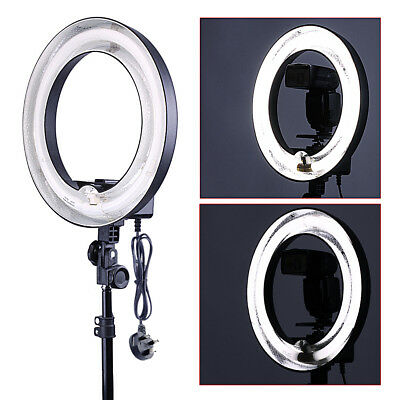 Neewer Studio Photo 400w 5500K Fluorescent Undimmable Ring Flash Light MT@9