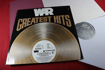 War  GREATEST HITS  -  LP LA Records 0060.160 Germany 1976 sehr gut
