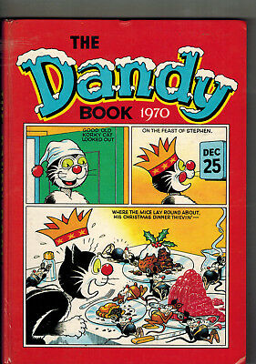 DANDY BOOK 1970 vintage comic annual