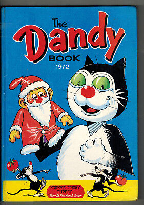DANDY BOOK 1972 vintage comic annual  NICE!