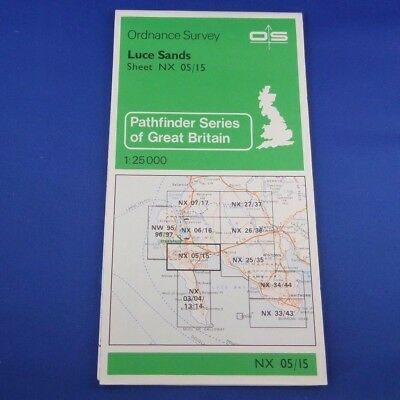 1980 Ordnance Survey Pathfinder Map NX05/15: Luce Sands