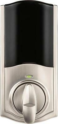 Kwikset - Kevo Convert Electronic Smart Door Lock - Satin nickel