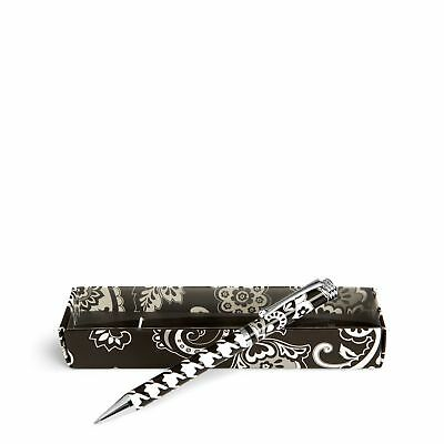 Vera Bradley Factory Exclusive Ball Point Pen in Midnight Paisley